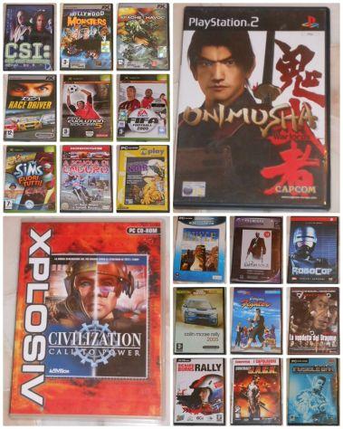 Videogiochi PC Game - Da collezione Lotto n. 20.