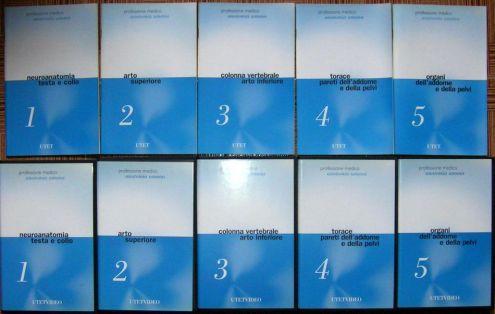 Professione Medico anatomia umana UTETVIDEO 5 VHS E 5 MANUALE INDICE 1) NEU …