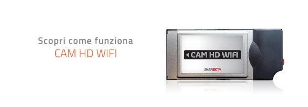 CAM HD WIFI CI+ x Mediaset Premium e satellitari vari compatibile tutte le TV