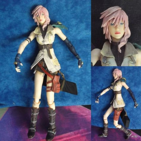 MANGA ANIME ACTION FIGURE LIGHTNING FINAL FANTASY XIII