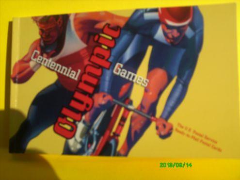 FRANCOBOLLI USA OLIMPIADI DEL CENTENARIO 1996