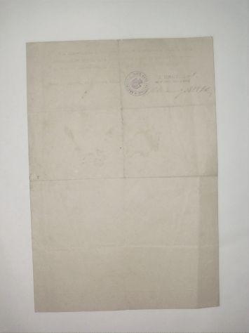 Documento del regio esercito italiano, 1917 - Foto 2