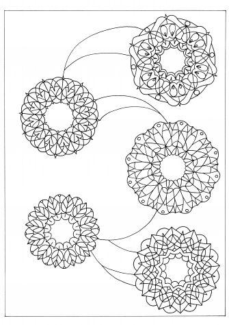 Mandala Libro Da Colorare Antistress Colouring Book 2 Regali