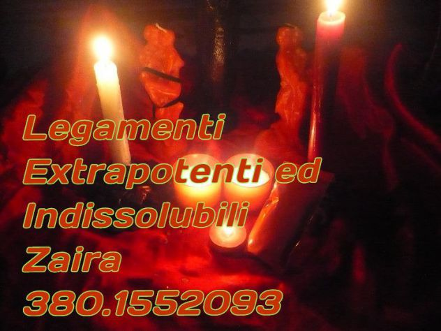 Zaira, MEDIUM, Legamenti d'Amore Indissolubili e PERMANENTI.380.1552093 - Foto 4