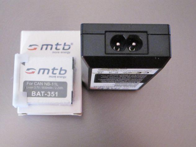MTB digi-charger  DCL-638 canon NB-11L +2 bat.-Li-ion351 - Foto 6