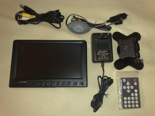 """Vendo monitor LCD 8"""" marca NEWISION - Foto 2"""