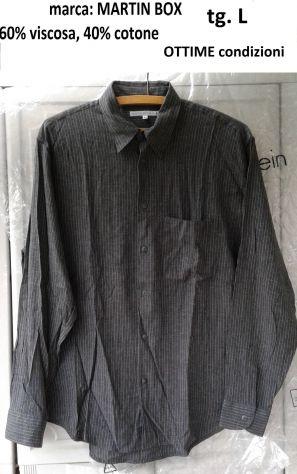 Tg. L, marca MARTIN BOX camicia uomo