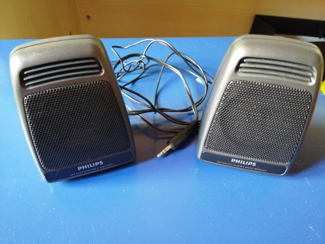Mini Casse Audio Philips Vintage