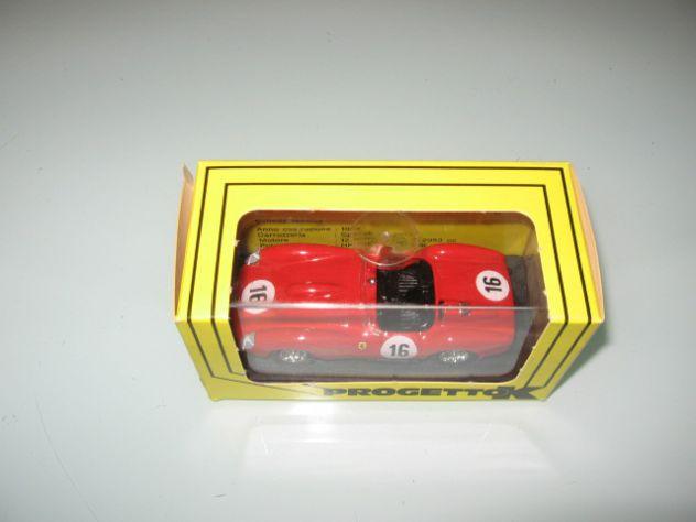 FERRARI 250 TR PROTOTIPO LE MANS 1958 PROGETTO K NUOVO!!!!