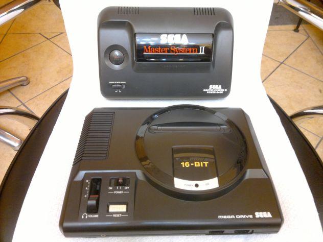 Megadrive console+2 giochi+1 joystick