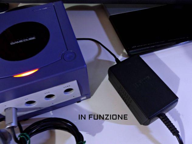 Alimentatore Nintendo GAME CUBE ORIGINALE, Funzionante - Foto 2