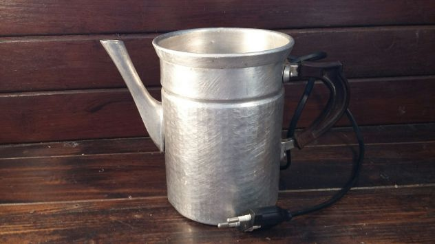 A226 alluminio vecchio lampada base scaldacaffe' caffettiera napoletana