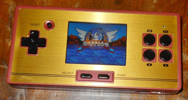 Retro console fc pocket nintendo nes famicom sega megadrive 600 giochi 8/16 bit