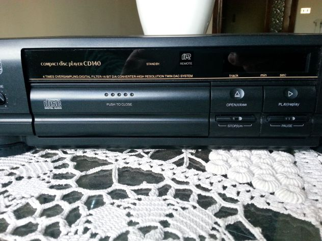 Philips Compact. Disc. Player CD 140