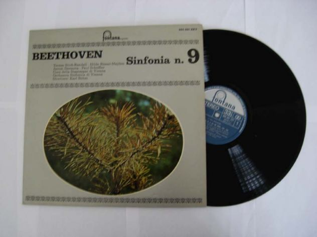 33 giri del 1970-L.V.BEETHOVEN SINFONIA N.9 IN RE MIN.OP.125