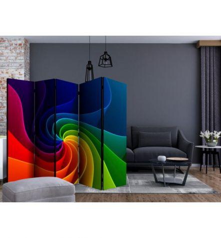 Paravento Multicolore ARREDALACASA N.14 Con 5 Ante - Foto 2