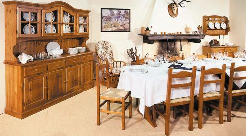 Credenza Rustica Per Taverna : Mobili rustici a prezzo di fabbrica taverna in legno dal