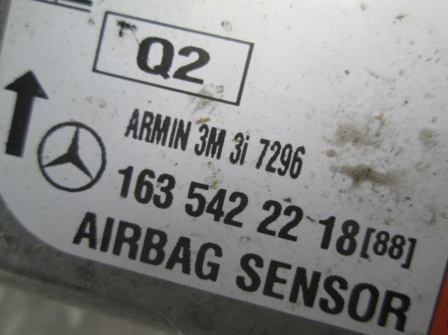 KIT AIRBAG COMPLETO MERCEDES W163 ML400 AMG 4.0 D 4X4 184KW 5P AUT (2001) R … - Foto 5