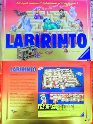LABIRINTO GIOCO RAVENSBURGER EDIZIONE LIMITATA IN LATTA.