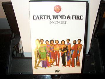 dvd earth wind & fire in concert