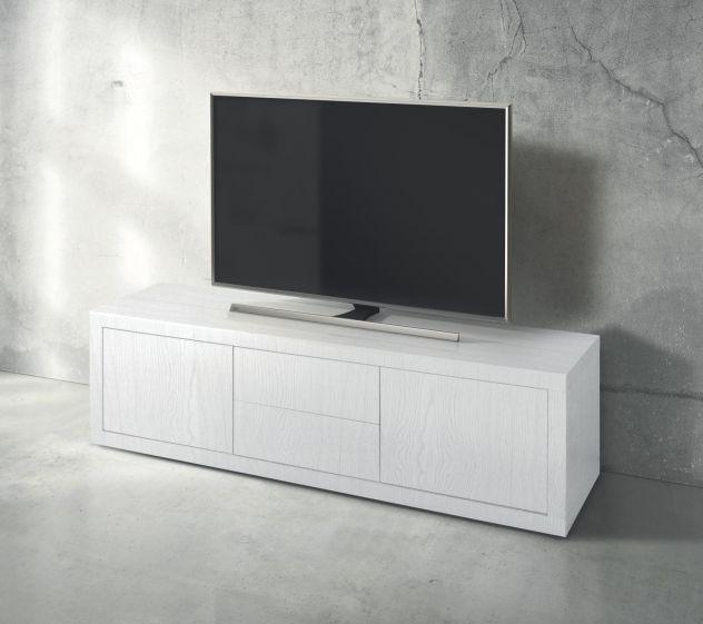 Porta Tv Bianco Moderno.Porta Tv Moderno Bianco Cod 258m