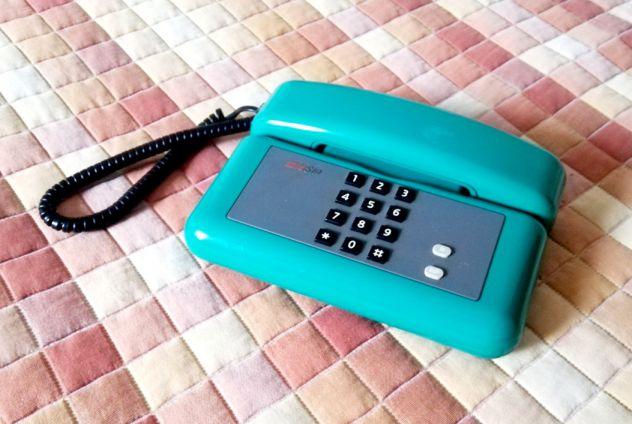 Telefono fisso SIP SIRIO verde carbonio