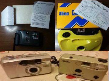 4 Macchine fotografiche a rullino  27 mm