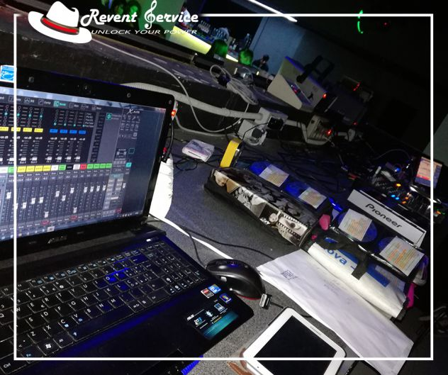 Service audio e luci con kit standard per feste e matrimoni a Milano e dintorni