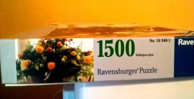 Puzzle Ravensburger 1500 pezzi Vaso di Fiori cod 163465 ...