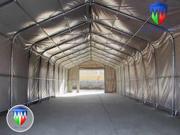 Tunnel Tendoni Professionli 8 x 18 x 4,40 Pvc Ignifugo MM Italia - Foto 4