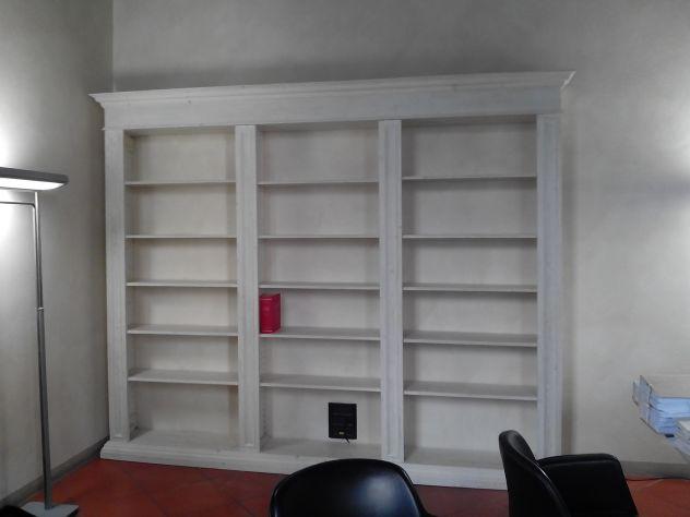 Librerie A Muro Su Misura.Librerie Su Misura In Legno Antico Annunci Padova