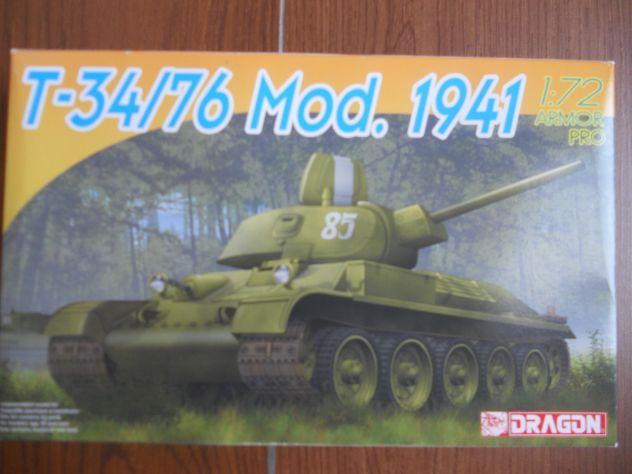 T - 34/76  MOD.  1941  SCALA  1/72   DRAGON