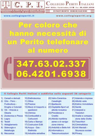 Sei un professionista? Iscriviti a COLLEGIO PERITI ITALIANI sarai perito forense - Foto 5