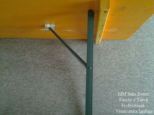 100 set panche e tavoli pieghevoli professionali per sagre noleggio - Foto 7
