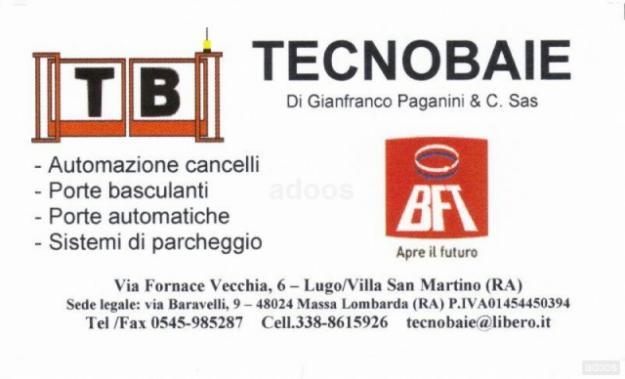 CANCELLI AUTOMATICI BFT FAAC APRIMATIC CAME INSTALLAZIONE - Ravenna