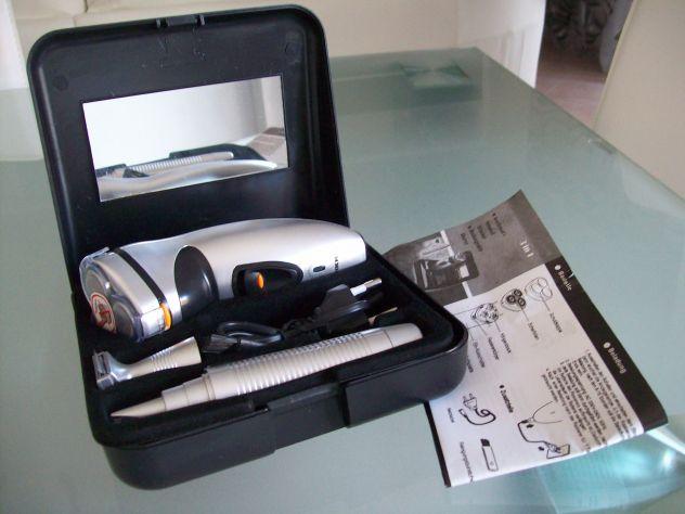 Set Rasoio Elettrico ricaricabile 3in1 e valigetta - Foto 3
