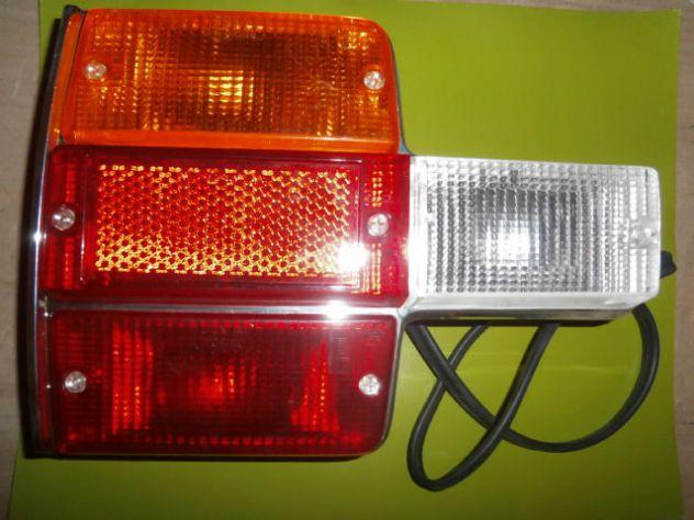 Fanale posteriore Fiat 131 Abarth prima serie NUOVO lato sx (guida)