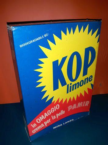 Mira Lanza scatolo detersivo KOP anni 70 CAROSELLO MAI APERTO