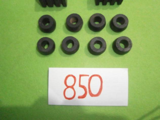 Boccole e tasselli barra stabilizzatrice Fiat 850 sport spider special NUOVI - Foto 4