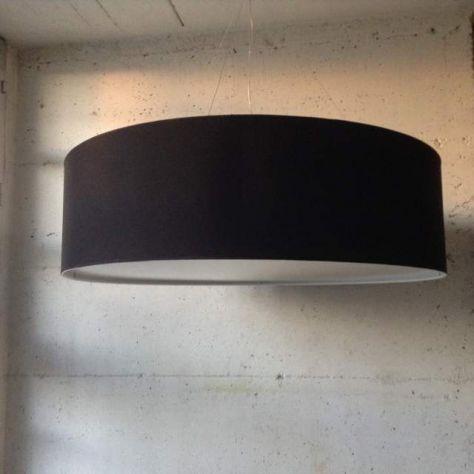 LAMPADARIO IN TESSUTO CILINDRO  IN TUTTE LE MISURE GRANDI - MAXI - Foto 5