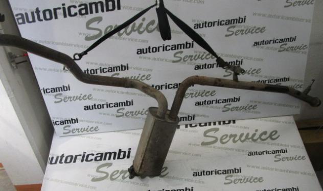 173057 MARMITTA TUBO DI SCARICO CON SILENZIATORE TERMINALE POSTERIORE CITRO …