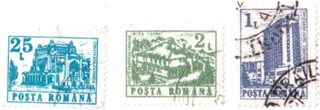 Francobolli usati da collezione Romania