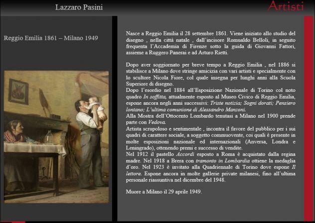 L. Pasini, importante dipinto a olio del 1925 - Foto 5