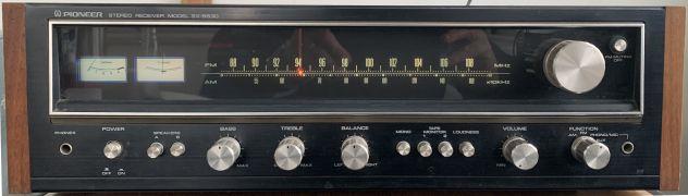 SINTOAMPLIFICATORE PIONEER STEREO RECEIVER SX 5530