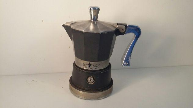 C116 caffettiera riuso Top moka nera
