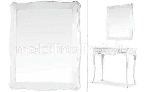 Specchiera - Bianco Opaco - Nuovo