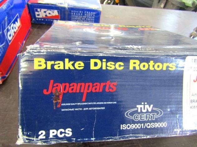JDI-254 COPPIA DISCHI FRENO ANTERIORI JAPANPARTS TOYOTA LITEACE WAGON 1.3 B … - Foto 5