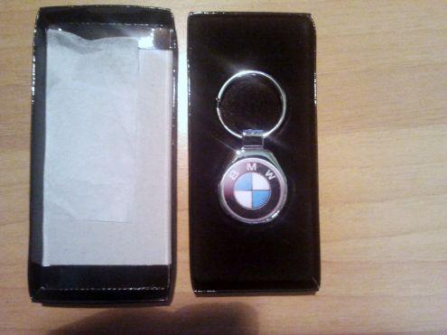 PORTACHIAVI PERSONALIZZATO BMW IN ACCIAIO INOX NUOVO CON ASTUCCIO MOTORRAD  … - Foto 2