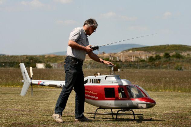elicottero SSH2-V2+ Radiocomando  7ch +ricevitore +cavo simulatore volo PC - Foto 6