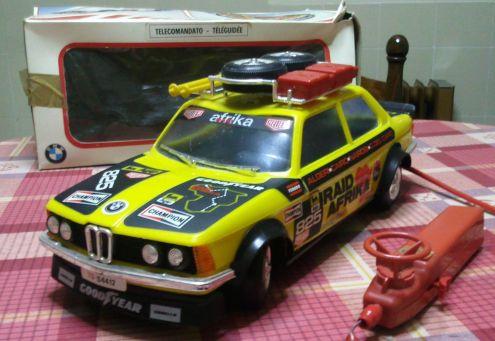 Modellino giocattolo BMW telecomandato anni 80 - Foto 2